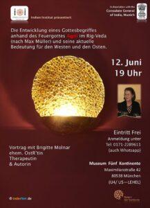Vortrag im Indien-Institut mit Brigitte Molnar