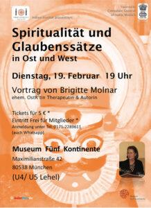 Fachvortrag Spiritualität und Glaubenssätze